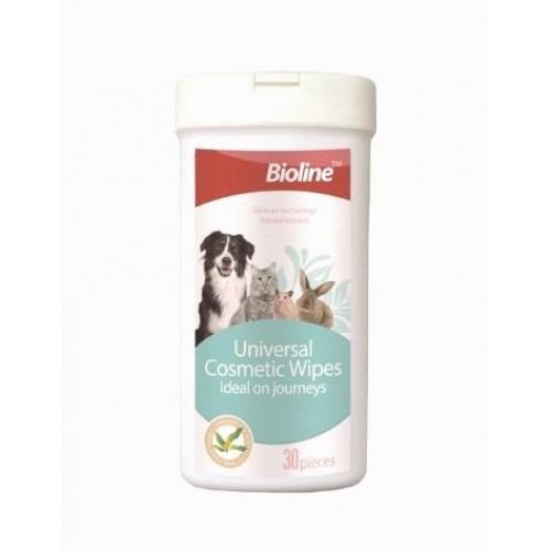 6970117122305 cosmetic - Bioline - Universal Cosmetic Wipes 30pcs