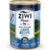 7 12 - ZiwiPeak - Lamb Recipe Canned Dog Food (390 g)