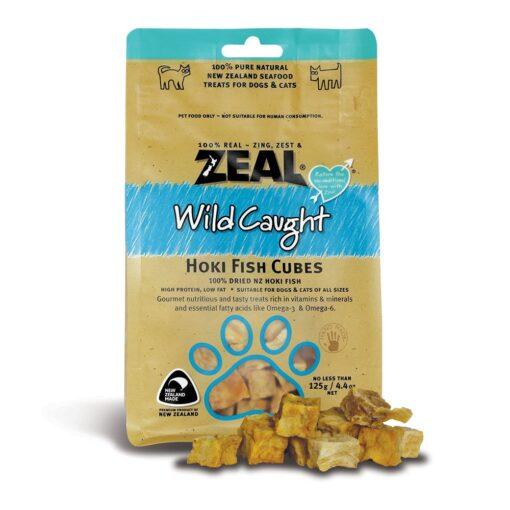 7 15 - Zeal - Hoki Fish Cubes (125 g)