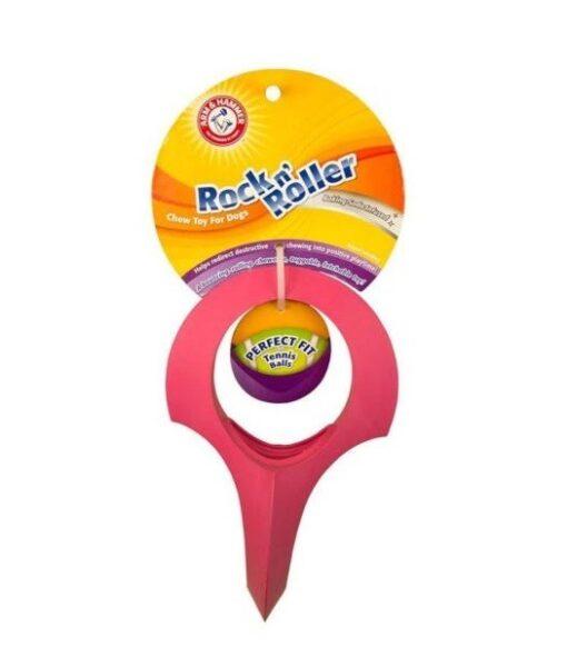 742797783451 - Arm & Hammer - Rock'n Roller Chew Toy