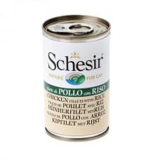 Schesir Cat Can Chicken Rice 140 gm
