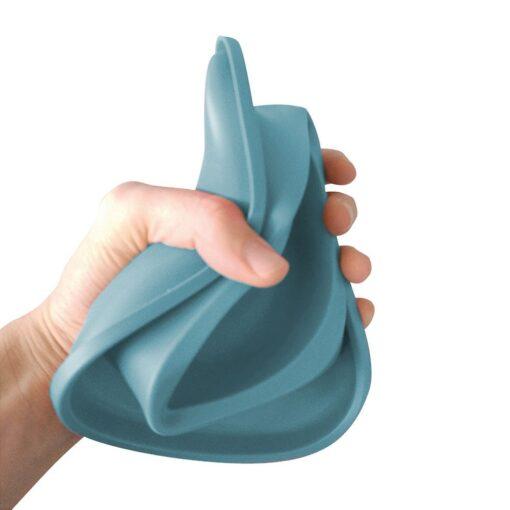 81 1 - Georplast Soft Touch Plastic Single Bowl Blue