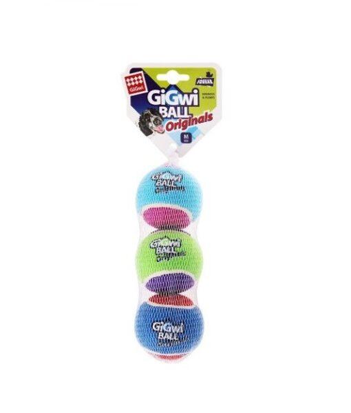 846295061186 - GiGwi Ball - Originals M (3pk)