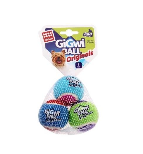 846295061193 - GiGwi Ball - Originals S (3pk)