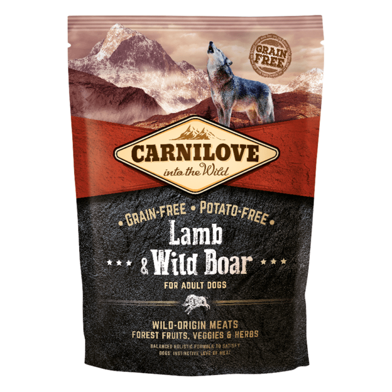 85956025089381 - Carnilove Lamb & Wild Boar For Adult Dogs - Dry Dog Food