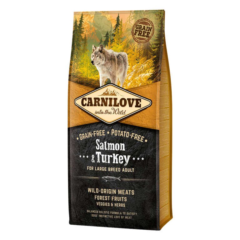 85956025089451 - Carnilove Salmon & Turkey-Dry food For Large Breed Adult Dogs