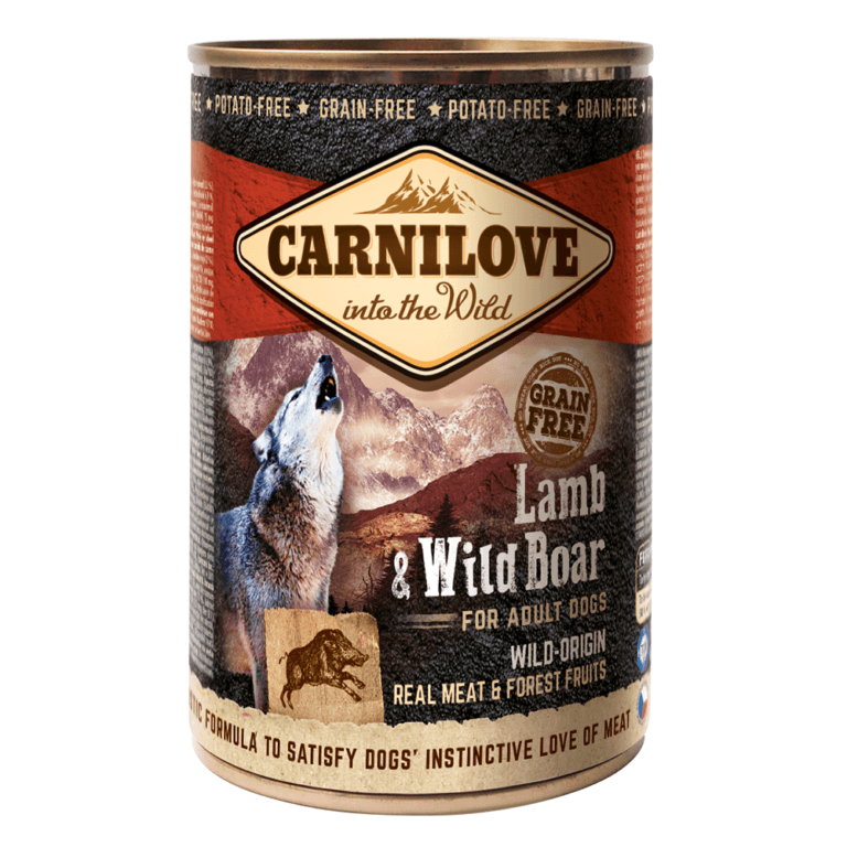 85956025116311 - Carnilove Lamb & Wild Boar For Adult Dogs