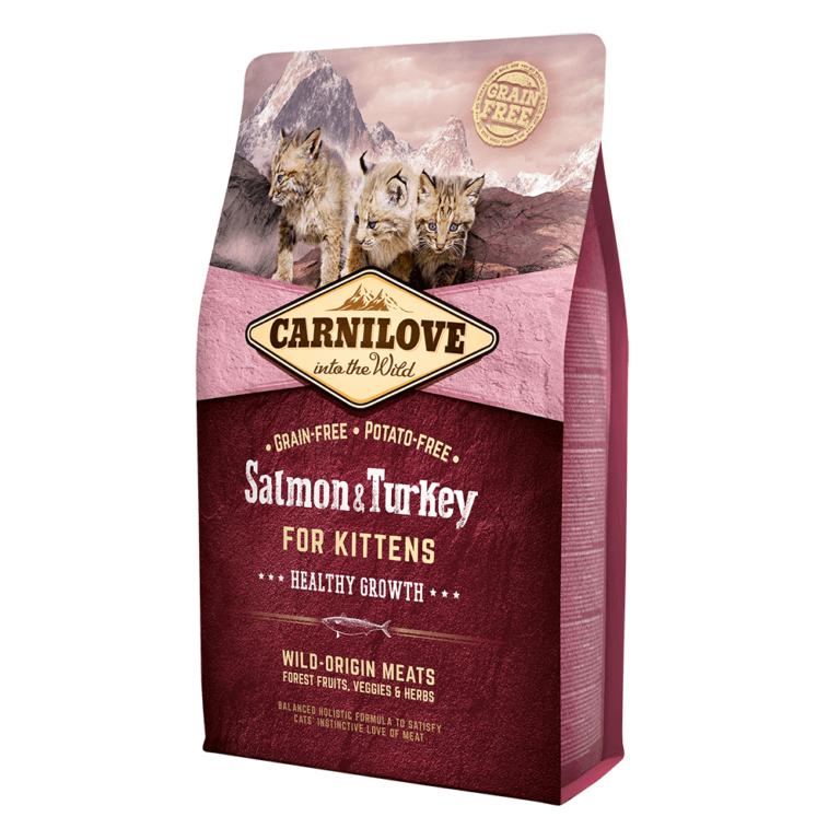 85956025122251 - Carnilove Salmon & Turkey For Kittens