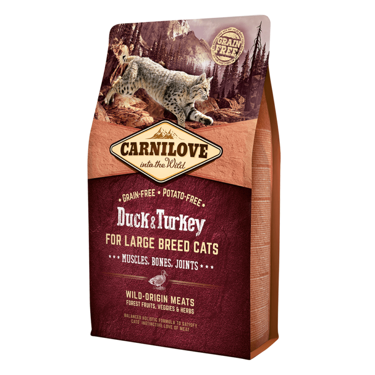 85956025127681 - Carnilove Duck & Turkey-Dry food For Large Breed Adult Cats