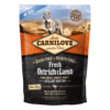 85956025274721 - Carnilove Fresh Ostrich & Lamb For Small Breed Adult Dogs