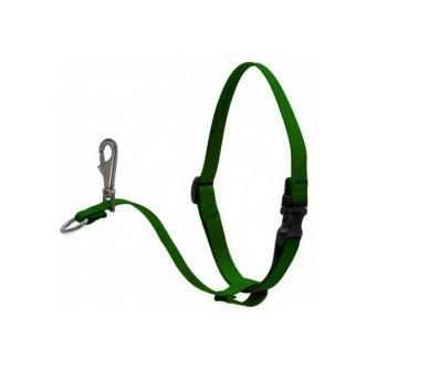 866 - Basics Green 1″ No Pull Harness 26-38