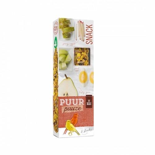 8711304673914 canary stick - Witte Molen - Puur Pauze Canary Sticks Apple & Pear 60g
