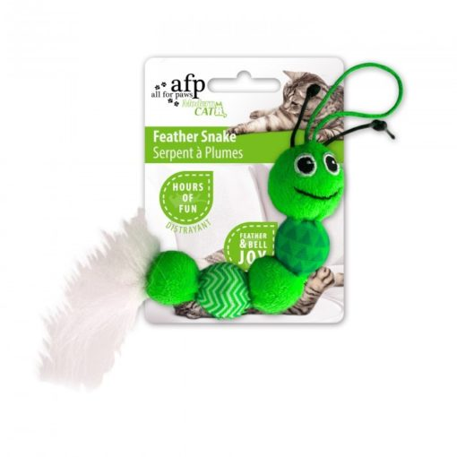 AFP Feather Snake Green
