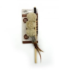 AFP Lambswool Lamb Kebab Wand Brown