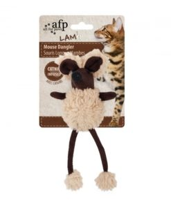 AFP Lambswool Mouse Dangler - Brown
