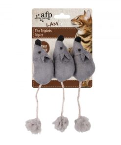 AFP Lambswool The Triplets Grey