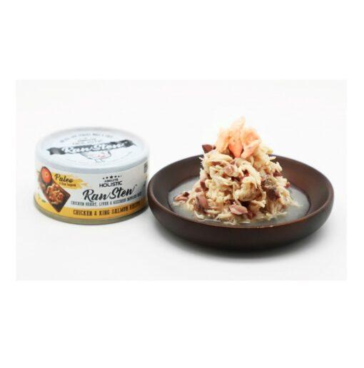 AH 7335 Chicken King Salmon - Absolute Holistic - RawStew Chicken & King Salmon Recipe
