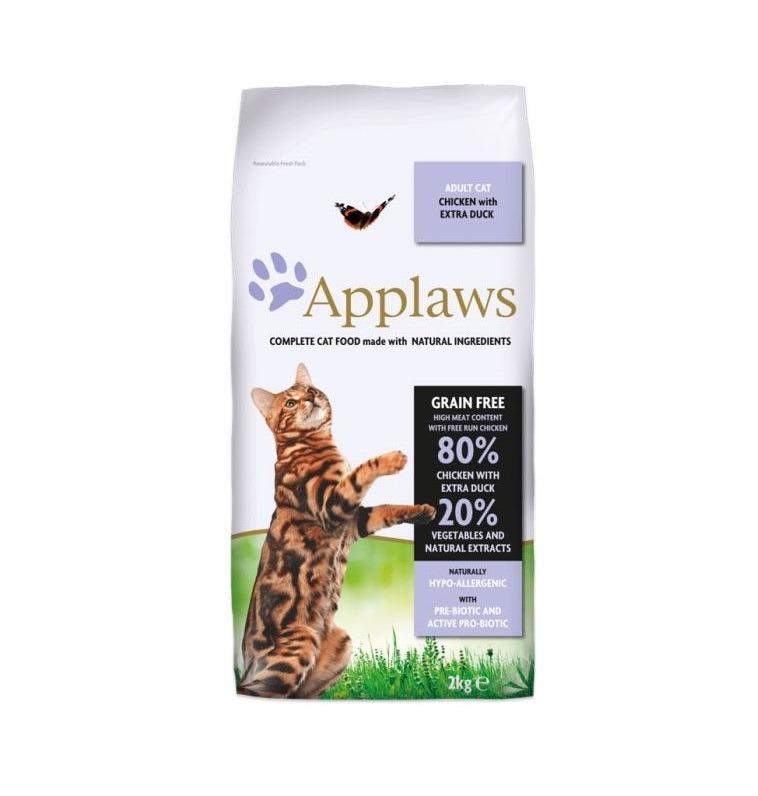 Applaws Adult Cat Dry Chicken Duck 2 - Applaws - Adult Cat Dry Chicken & Duck