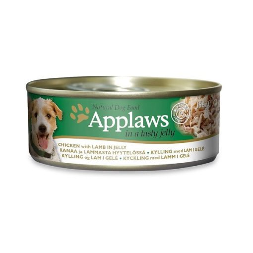 Applaws Dog Chicken with Lamb in Jelly 156g - Applaws Dog Chicken with Lamb in Jelly 156g Tin