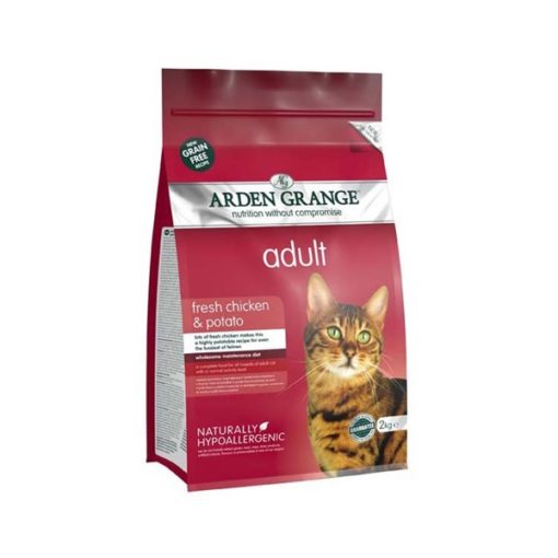 Arden Grange - Grain Free Adult Cat Fresh Chicken & Potato