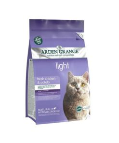 Arden Grange - Grain Free Adult Cat Light Fresh Chicken & Potato