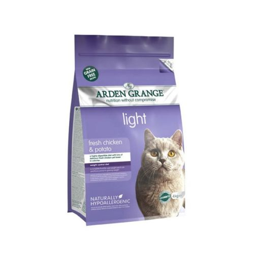 Arden Grange - Grain Free Adult Cat Light Fresh Chicken & Potato