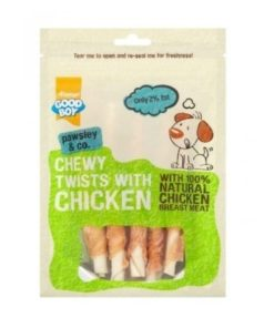 Armitage Good Boy - Chewy Chicken Twists (90G)