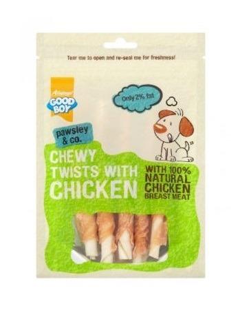 Armitage Good Boy - Chewy Chicken Twists (90G)