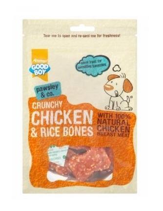 Armitage Good Boy - Crunchy Chicken & Rice Bones (100G)