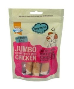 Armitage Good Boy - Jumbo Chicken Chewy Twists (100G)