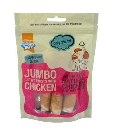 Armitage Good Boy - Jumbo Chicken Chewy Twists (100G)