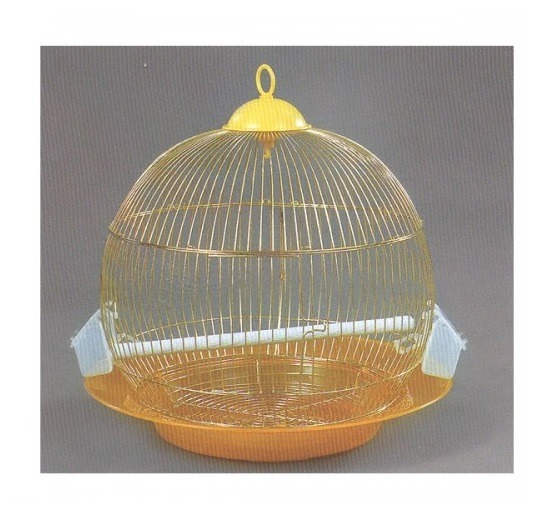 Bird Cage Dng (Round): Size: 46X46 Gold (Only Sold Per Box Of 10 Pcs)