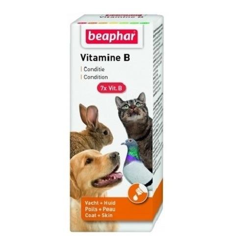 "Beaphar Vitamin B Supplement CoatSkin 50ml - Beaphar - Vitamin B Supplement ""Coat&Skin"" (50ml)"
