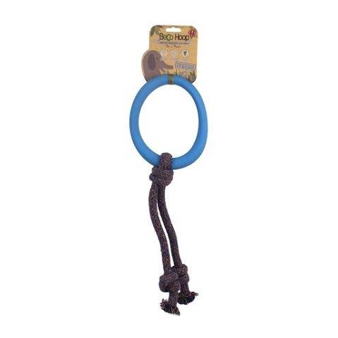 Beco Hoop On Rope Blue Small - Beco Pets - Hoop On Rope
