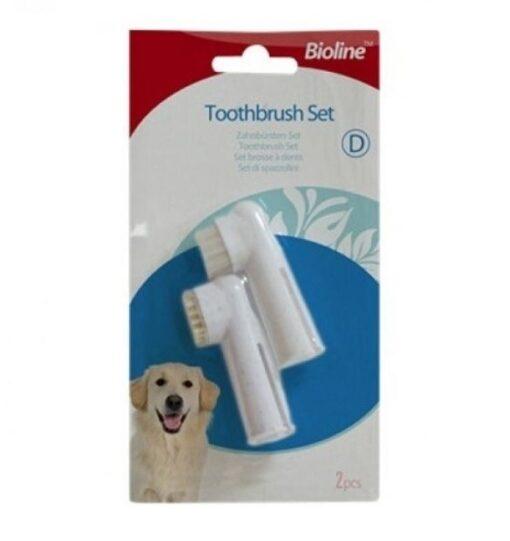 Bioline Finger Toothbrush 2pc - Bioline - Finger Toothbrush (2pc)