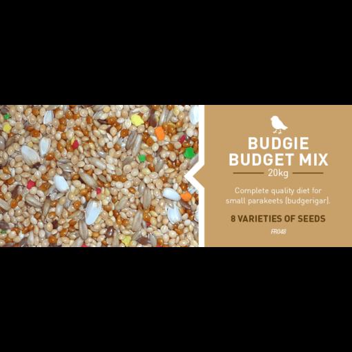 Budgie Budget Mix 20KG FR048 - Farma - Budgie Budget Mix
