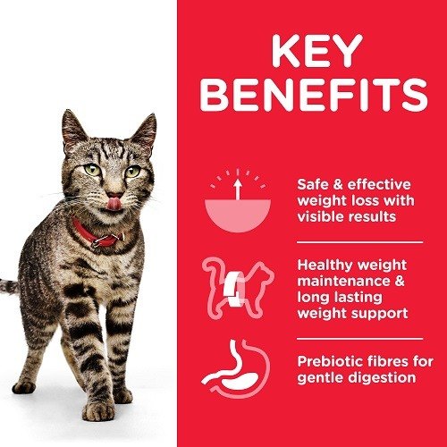 CAT Adult Perfect Weight Chicken Transition Benefits - Hill's Science Plan – Perfect Weight Adult Cat Food With Chicken