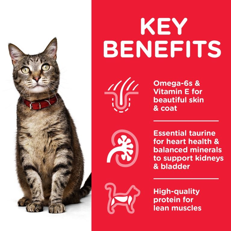 CAT Adult Tuna Transition Benefits - Hill's Science Plan - Adult Cat Food With Tuna