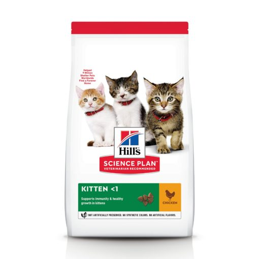 CAT Kitten Chicken Ongoing Front Packaging - Hill's Science Plan - Kitten Food With Chicken