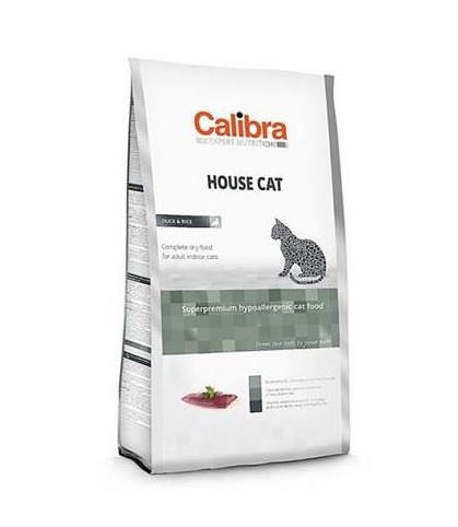 Calibra Sp Dry Cat Expert Nutrition Housecat ChickenDuckRice 7kg - Calibra - Sp Dry Cat Expert Nutrition Housecat Chicken&duck