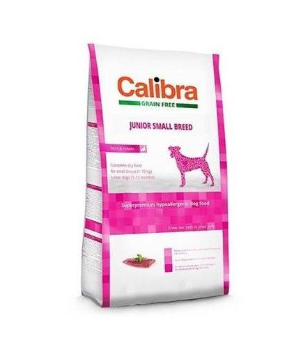 Calibra Sp Dry Dog Grain Free Junior Small Breed Duck 2kg - Calibra - Sp Dry Dog Grain Free Junior Small Breed Duck