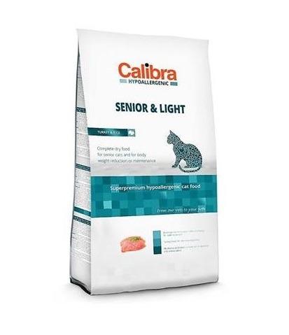 Calibra Sp Dry Hypoallergenic Cat Senior Light Turkey 7kg - Calibra – Sp Dry Ha Cat Senior & Light Turkey