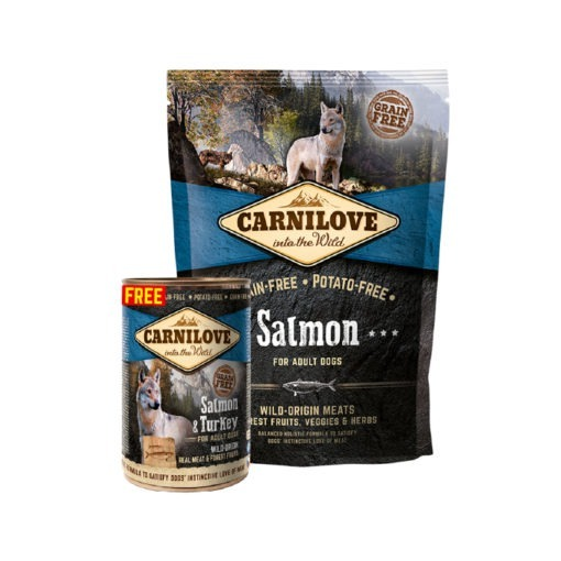 Carnilove Salmon For Adult Dogs 1.5kg