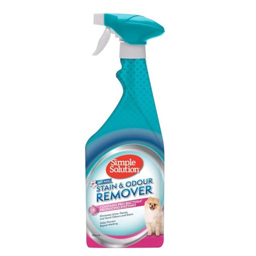 Dog Stain Odour Remover Spring Breeze 1 - Simple Solution - Stain And Odor Remover - Spring Breeze (750ml)