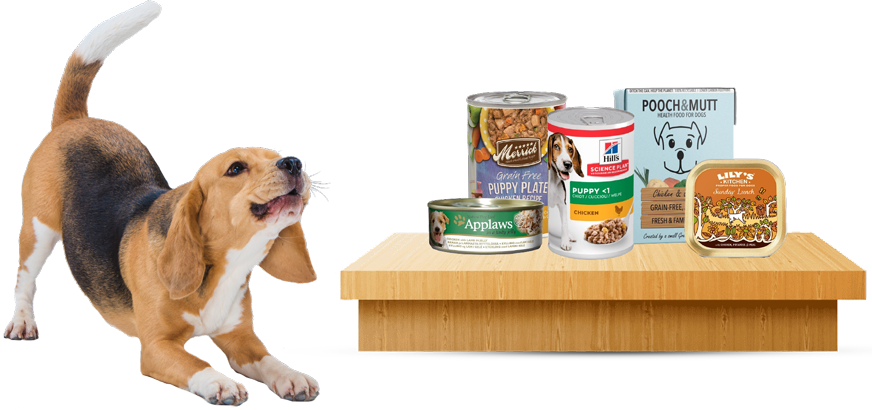 Dog Wet Food Slider