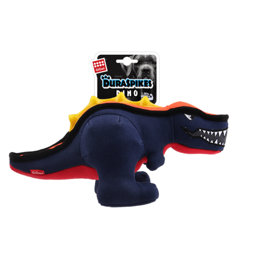 Duraspikes Extra Durable Dinosaur Dark Blue - GiGwi - Duraspikes Extra Durable Dinosaur Dark Blue