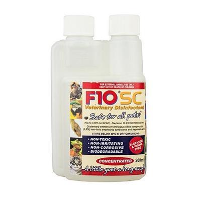 F10 – SC Disinfectant 200ml 1 - F10 - SC Disinfectant(200 ml)