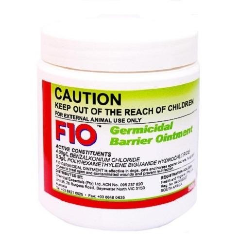 F10 Germicidal Barrier Ointment 100g - F10 - Germicidal Barrier Ointment (100g)