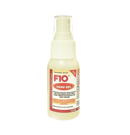 F10 hand gel 1 - F10 - Hand Gel 50ml