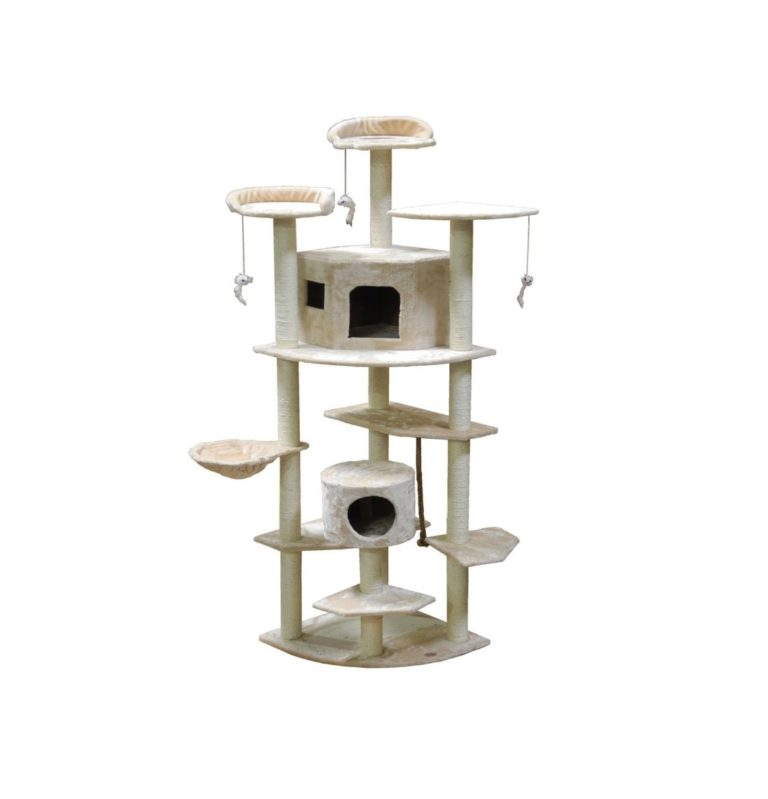 F2030 - Cat Tree SIZE 84Wx56Lx183H